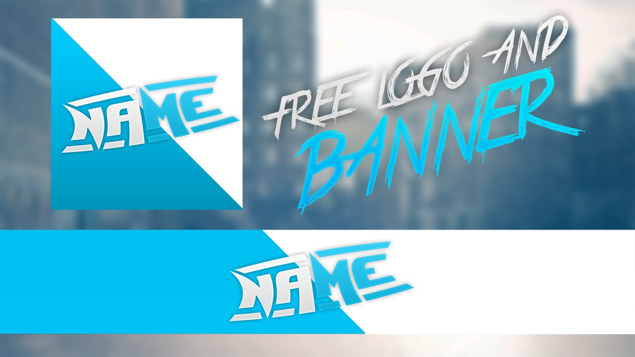 Free clean logo and banner template free revamp 2018 youtube maxwellsz