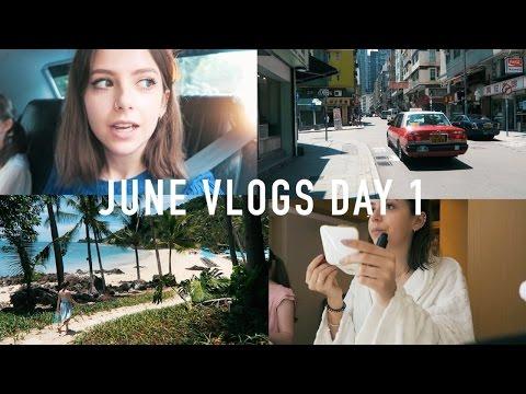 JUNE VLOGS DAY 1: Hong Kong Catch-Up and Koh Samui | sunbeamsjess