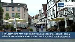 Stadtrundfahrt im roten Bus durch Soest: So lautet das Fazit nach einem Monat