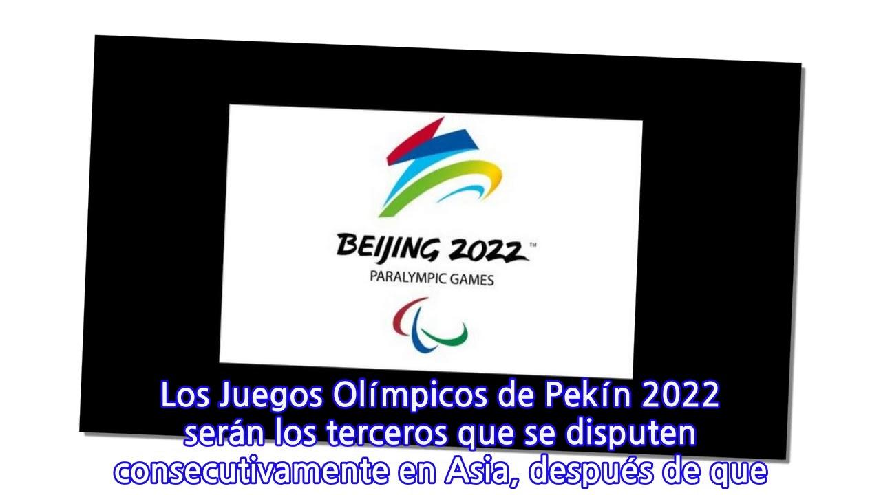 Revelaron El Logo De Los Juegos Olimpicos De Invierno 2022 Youtube