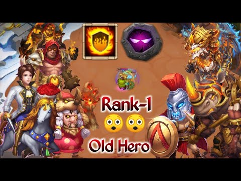 Oracle Warden | Insane Team | Rank-1 | Old Heroes | No Max Hero😲😲 | Must Watch | Castle Clash