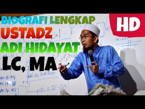 biografi-ustadz-adi-hidayat-lc,-ma-|-lengkap-padat