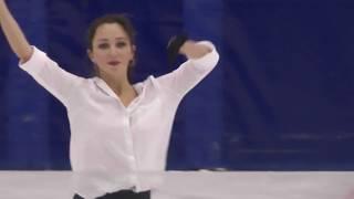 Елизавета Туктамышева КП Контрольные прокаты 2018 2019 Tuktamysheva Elizaveta SP Open Skates