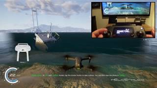 Bad weather and trying the DJI Flight Simulator