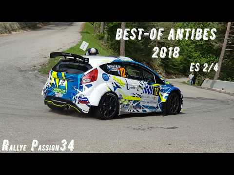 Rallye d' Antibes 2018  Best-of es2/4