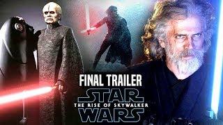 The Rise Of Skywalker Final Trailer Shocking News Revealed! (Star Wars Episode 9 Trailer 3)