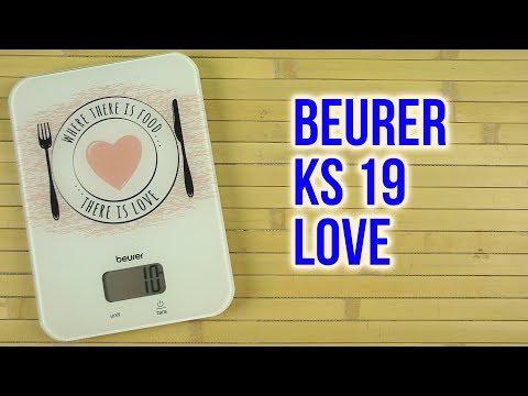 Распаковка BEURER KS 19 Love