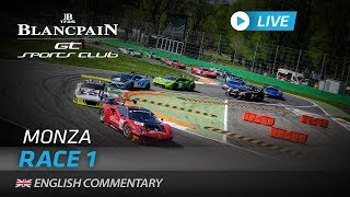 RACE 1 - GT SPORTS CLUB - MONZA - Blancpain GT Sports Club 2019 - ENGLISH