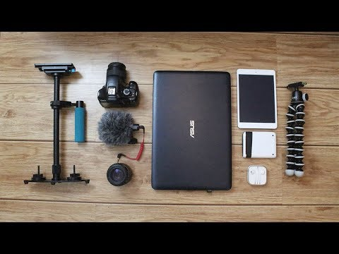 What's in my Camera Bag / 2017