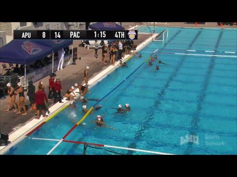 GCC Women's Water Polo Championship 2018: Semi #2 - Pacific vs. Azusa Pacific