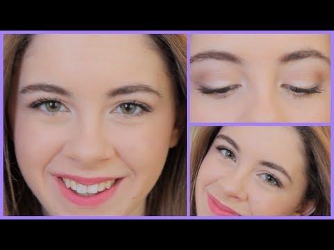natural pink prom makeup tutorial  youtube