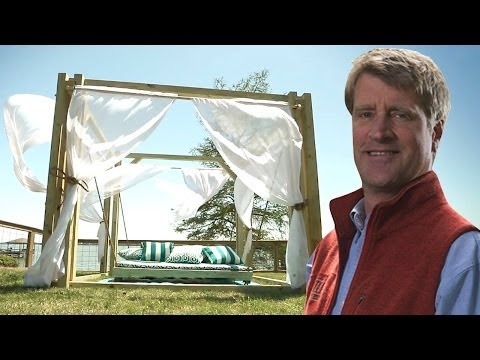 Pete Nelson Builds a STUNNING Free Standing Hammock | Treehouse Masters