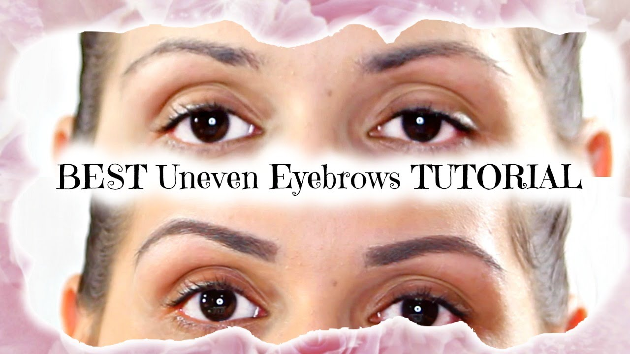 Best Eyebrow Tutorial For Uneven Sparse Brows Jassirabeauty