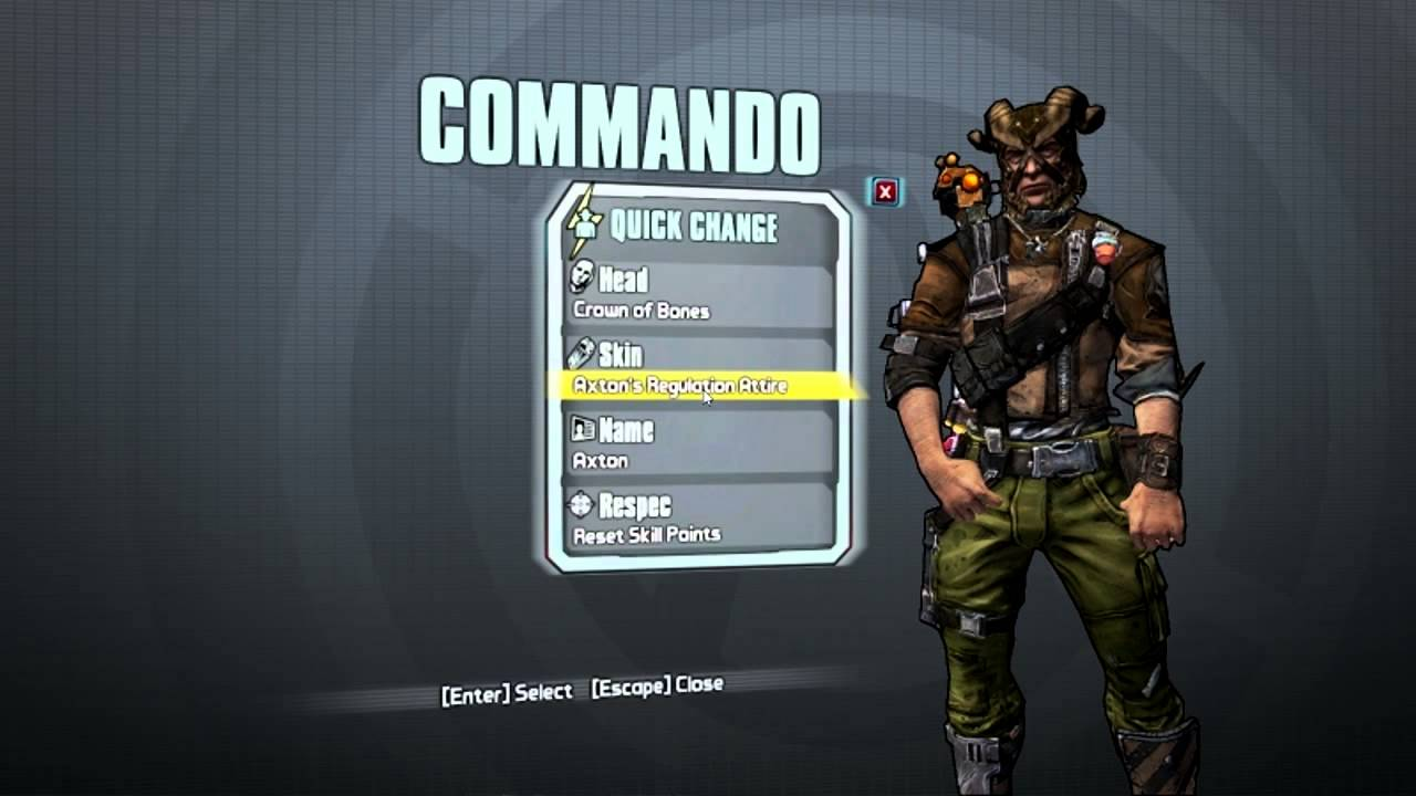 [NEW] Ultimate Vault Hunter Upgrade Pack 2 Skins For Axton