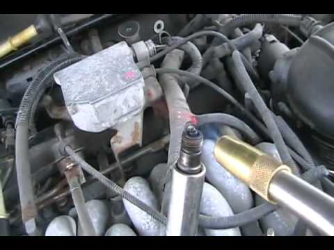 Redneck Repair 97 Lincoln Continental Motor One Cylinder Misfiring