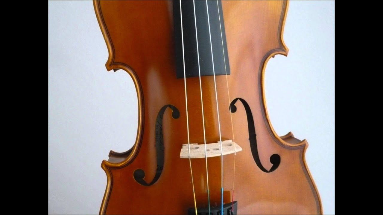 how to make sound from a violin
