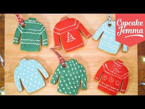Get How to Make Christmas Jumper Cookies | Cupcake Jemma Snapshots