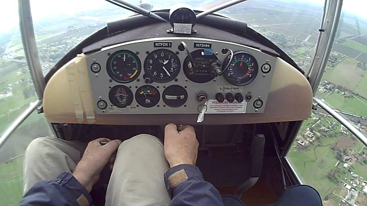 Kitfox 1 Pattern and Landing