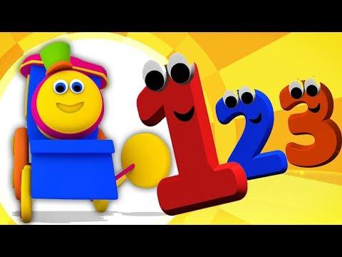Bob El Tren | Bob Número De Tren De Juegos Para Niños | Bob Canciones Tren Compilación