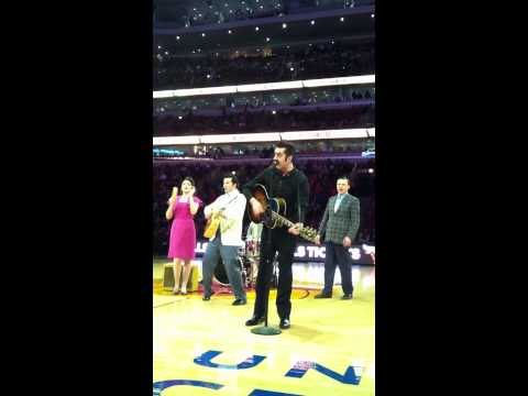 Million Dollar Quartet Chicago performing at the Bulls Halftime Show 1-27-2014