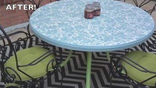 How to Paint Outdoor Furniture: Furniture Makeovers - Thrift Diving