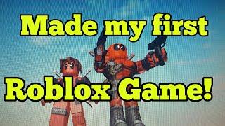 ROBLOX - J'ai fait mon premier match!