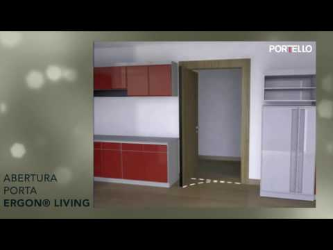 Sistema Porta Pivotante ERGON LIVING - Portello