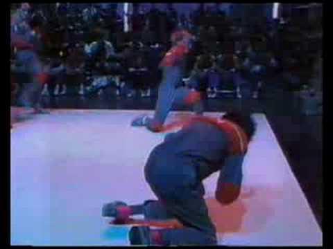 Breakdancing Team 1980's