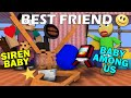 Monster School : BABY SIREN HEAD AND AMONG US BECOME BEST FRIEND - Minecraft Animation