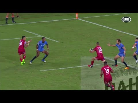 Quade Cooper's footwork sets up 2 tries vs Force