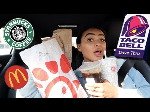 Letting The Person In FRONT Of Me DECIDE What I Eat For 24 Hours Ft. Im Broke Now