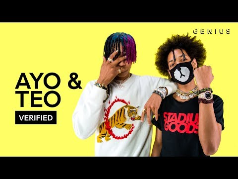 "Ayo & Teo ""Better Off Alone"" Official Lyrics & Meaning 