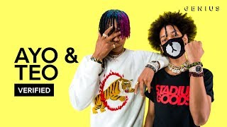 ayo teo better off alone official lyrics meaning verified