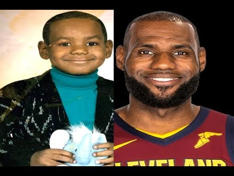LeBron James Childhood