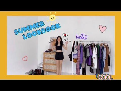 SUMMER LOOKBOOK 🌞 l 12 outfits đơn giản cho những lúc không biết mặc gì 🌚
