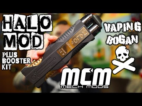 The Most Insane Vape! | Halo + Booster Kit | MCM Mech Mods Philippines | Vaping Bogan