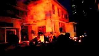 2014年4月26日 旧藤田外科炎上音楽祭 音楽 / 渡邊和三郎 音楽サポート /...