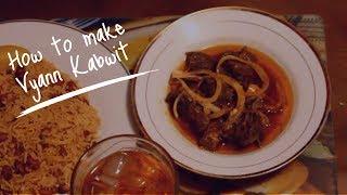 Haitian Recipes: Haitian Goat   Vyann Kabwit