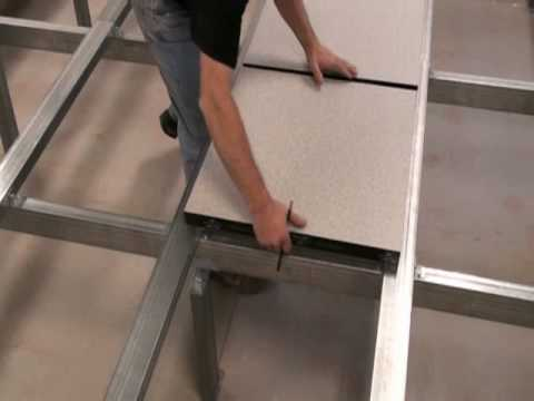 Iso floor installation for leading us telecom operator for Floor operator