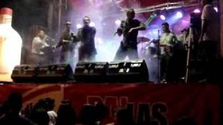 ORQUESTA SON VERDES POLICIA NACIONAL COLOMBIA..REGGAETON TYANCRYS CHUCKY YANKEE ...