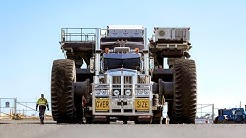 National Heavy Haulage deliver the World's Second Largest Ultra-Class Mining Trucks to BHP