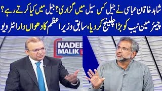 Shahid Khaqan Abbasi Exclusive Interview | Nadeem Malik Live
