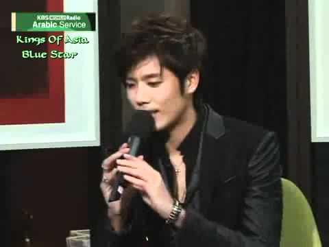 SS501 Kim Kyu Jong @ KBS World Arabic Interview P1 [ENG SUB]
