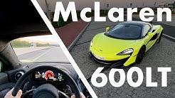 McLaren 600LT | 336 km/h auf der Autobahn | POV | Matthias Malmedie