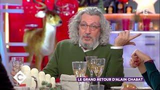 Alain Chabat au dîner - C à Vous - 27/11/2017