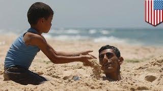 Sand tunnel collapse kills man on popular North Carolina beach