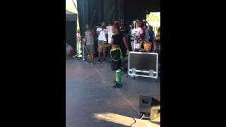 lexii tookhute performing montreal jamaica day 2014