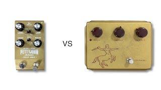 PettyJohn Gold MKII vs Klon Centaur