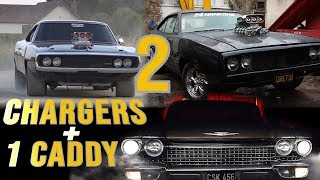 2 Chargers & 1 Caddy Torque Amerrican EP 15