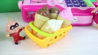Süper Bebek Çek Çek Dondurmaları Yedi Eğlenceli Çocuk Videoları